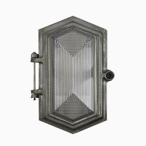 Lampada da parete prismatica di Wardle, anni '50