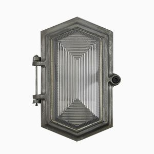 Prismatic Wall Light from Wardle, 1950s