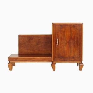 Mueble de recibidor Art Déco de nogal
