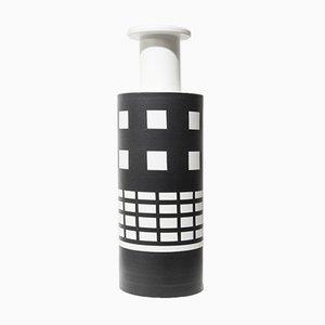 Jarrón vintage de cerámica de Ettore Sottsass para Bitossi