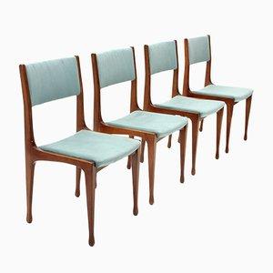 Modell 693 Esszimmerstühle von Carlo de Carli für Cassina, 1950er, 4er Set