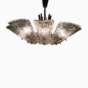 Lámpara de araña vintage de 9 luces de Kalmar