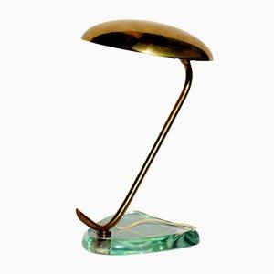 Lámpara de mesa de Fontana Arte, años 50