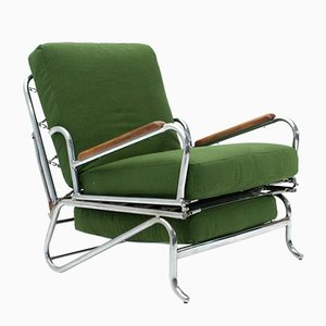 Fauteuil Inclinable Mid-century, Italie, 1930s