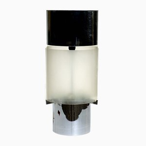 Lampe de Bureau Space Age Chromée, Italie, 1970s