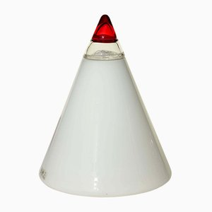 Large Model Rio Murano Glass Table Lamp by Giusto Toso for Leucos, 1960s