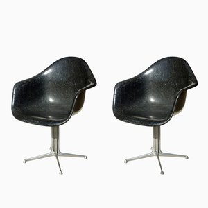 La Fonda Fiberglass Chairs by Charles & Ray Eames for Herman Miller, 1960s, Set of 2