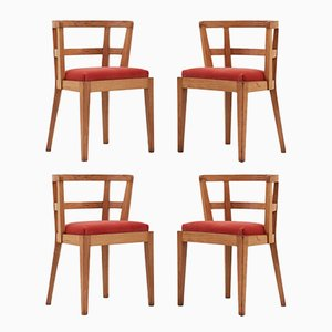 Modernist Architect Chairs, 1935, Set of 4