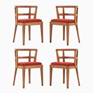 Sedie da architetto moderniste, 1935, set di 4