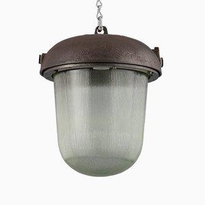 Vintage Industrial Pendant, 1950s