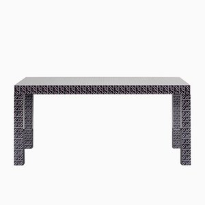 Black California Hitan Table by Chapel Petrassi