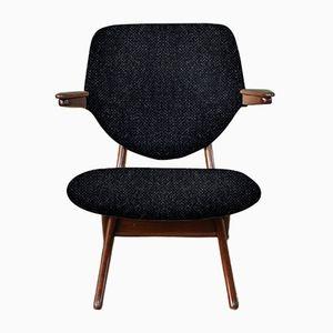 Customizable Pelican Armchair by Louis van Teeffelen for WéBé in Dark & Light Grey