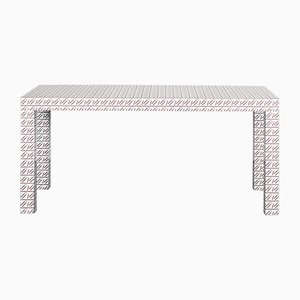 White California Hitan Table by Chapel Petrassi