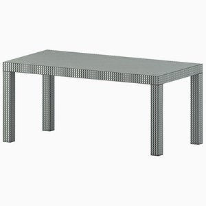 Green Optical Hitan Table by Chapel Petrassi