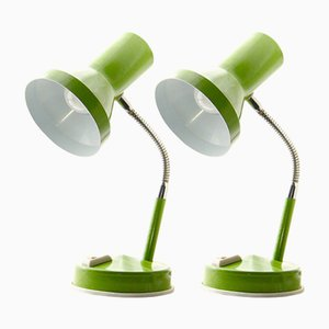 Lampes de Bureau Mid-Century, Italie, 1950s, Set de 2