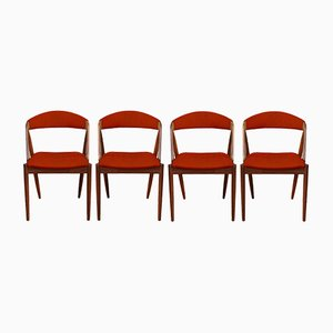 Customizable Model 31 Dining Chairs by Kai Kristiansen, Set of 4