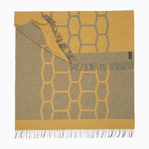 Goldene Light Companion Decke mit Schildkrötenpanzer-Muster von Catharina Mende