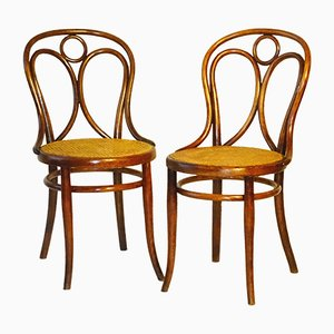 Antique Nr. 19 Angel Chairs from Thonet, 1870s, Set of 2