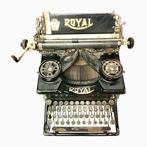 Máquina de escribir americana vintage de Royal
