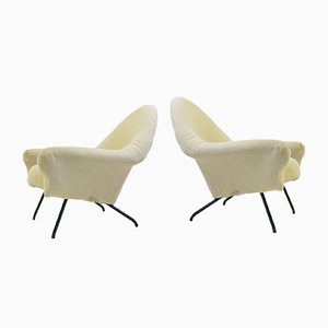 Model 770 Lounge Chairs by Joseph-André Motte, 1958, Set of 2