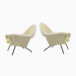 Modell 770 Sessel von Joseph-André Motte, 1958, 2er Set