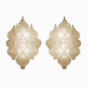 Tulipan Wall Lamps from Kalmar, 1970s, Set of 2