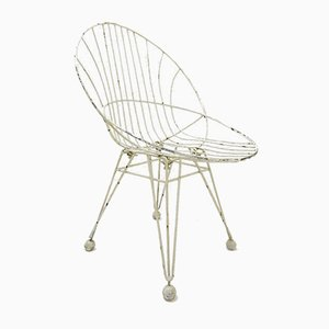 Mid-Century Wire Chair by Cees Braakman for Pastoe, 1950s