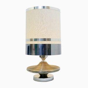 Tischlampe aus Chrom, 1970er