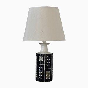 Lampe de Bureau en Céramique par Inge-Lise Koefoed pour Royal Copenhagen et Fog & Mørup, 1960s