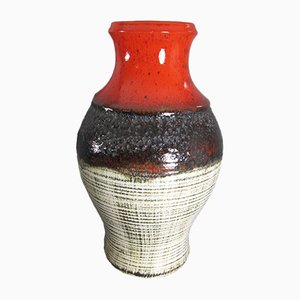 Mid-Century No. 903 1744 Fat Lava Vase from Jasba, 1960s