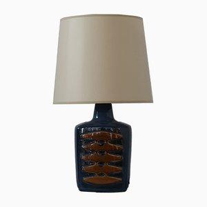 Lámpara de mesa de cerámica de Einar Johansen para Søholm, años 60