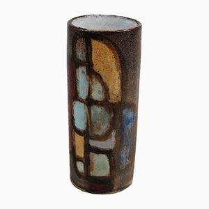 Französische Vallauris Keramikvase von Alexandre Kostanda, 1960er