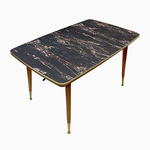 German Height Adjustable Extension Table, 1950s