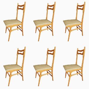 Mid-Century Italian Chairs, Set of 6