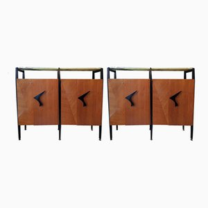 Mid-Century Cabinets by Luigi Scremin, Set of 2