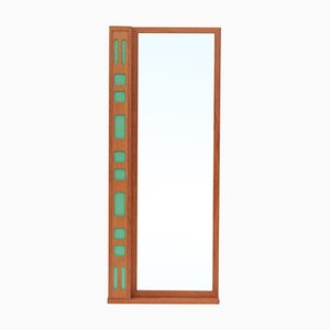 Vintage Swedish Teak Mirror, 1970s