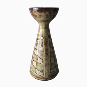 Vallauris Ceramic Candleholder from Vieux Moulin, 1960s