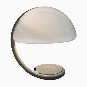 Italienische Modell Serpente Tischlampe von Elio Martinelli, 1960er