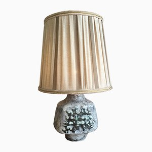 Mid-Century Tischlampe aus Keramik, 1950er