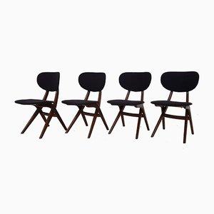 Chaises de Salon par Louis van Teeffelen pour Wébé, 1950s, Set de 4