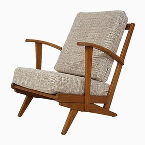 Vintage Dutch Lounge Chair, 1950s
