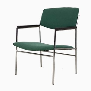 Green Side Chair by Gijs van der Sluis, 1960s