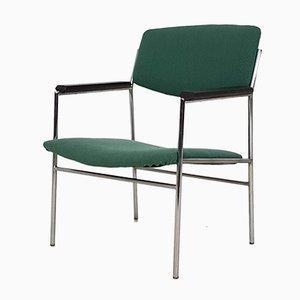 Grüner Beistellstuhl von Gijs van der Sluis, 1960er
