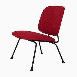 Roter Beistellstuhl von Willem Hendrik Gispen für Kembo, 1950er
