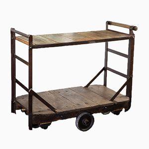Vintage Industrial Trolley, 1940s