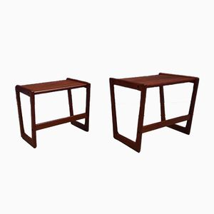 Danish Kubus Nesting Tables by Georg Jensen for Tonder Mobelvaerk, 1960s
