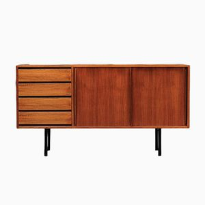 Scandinavian Teak Model 4004 Sideboard by Olli Borg for Asko, 1950s