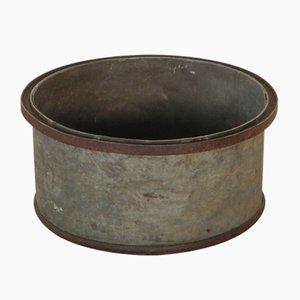 Industrieller Vintage Behälter aus Metall, 1942