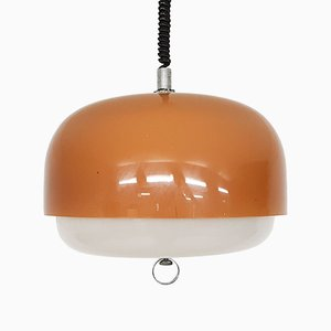 Adjustable Space Age Pendant Light by Harvey Guzzini for Meblo, 1970s