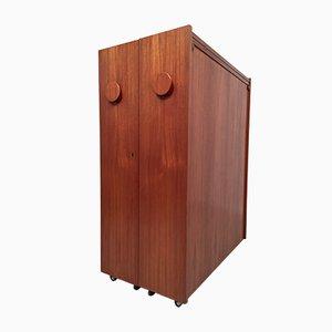 Mueble bar Fold-Out de Erik Buch para Dyrlund, años 60